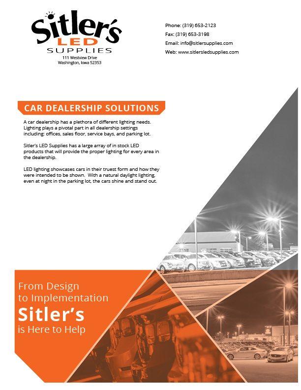 LEDs for Car Dealership