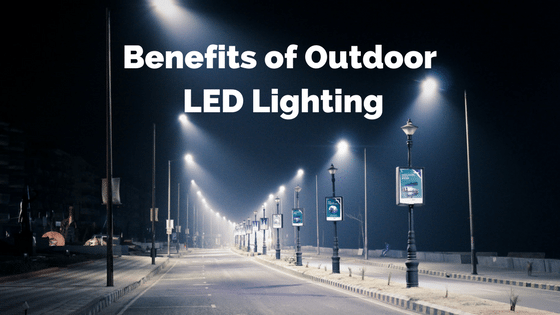 Outdoor Led Light Mesmerizing Benefits Of Outdoor LED Lighting Sitler's LED Supplies