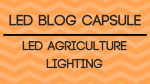 led agriculture lighting
