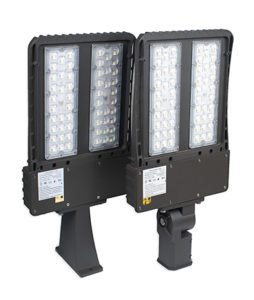 LED shoebox fixtures