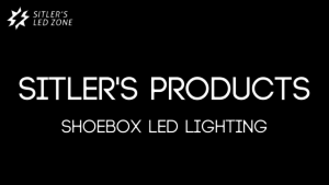 LED shoebox lights