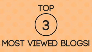 Top 3 most viewed blogs of 2017