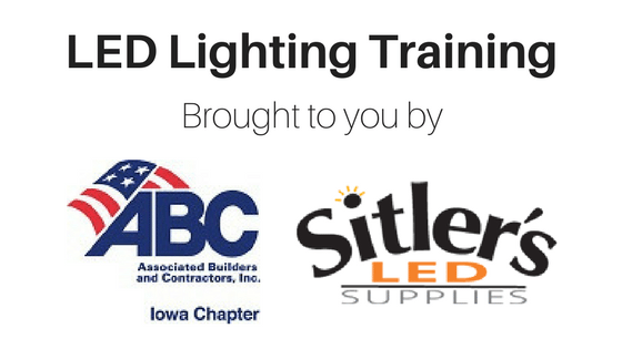 sitler s joins led abc training classes sitler s led supplies